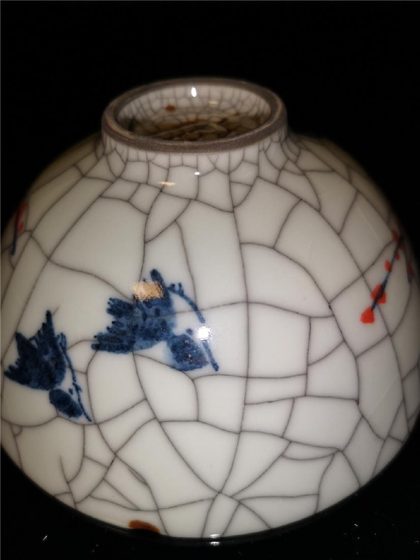 Chinese Guan kiln Porcelain Bowl - 8