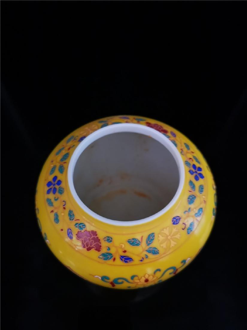 Pair of Chinese Doucai Porcelain Jars - 10
