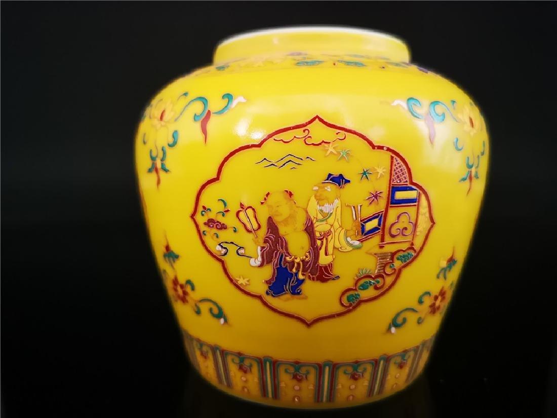 Pair of Chinese Doucai Porcelain Jars - 3