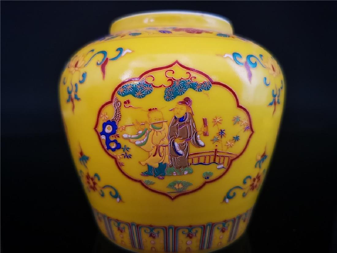 Pair of Chinese Doucai Porcelain Jars - 4