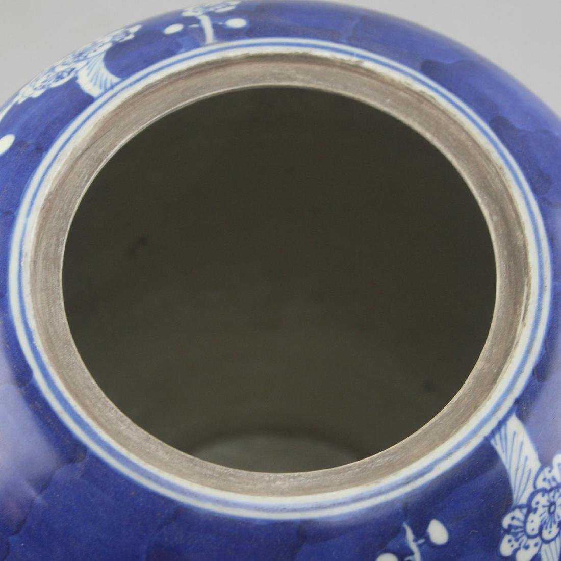 Chinese Blue And White Porcelain Jar - 8