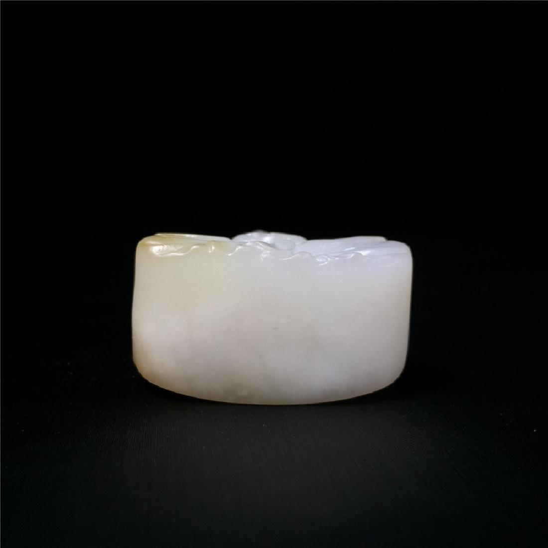 Chinese Hetian Jade  Carved Figure - 7
