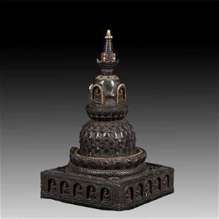 Chinese Stone Pagoda