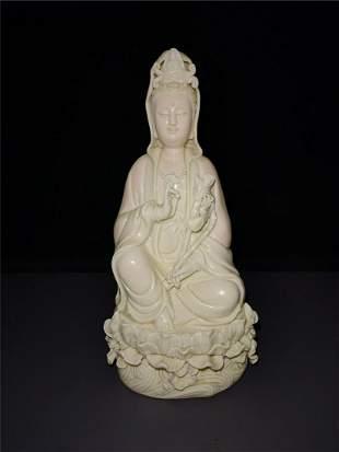 Chinese Dehua Kiln Porcelain Guanyin