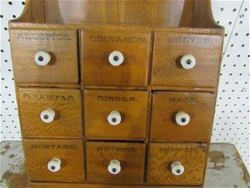 11 drawer spice cabinet