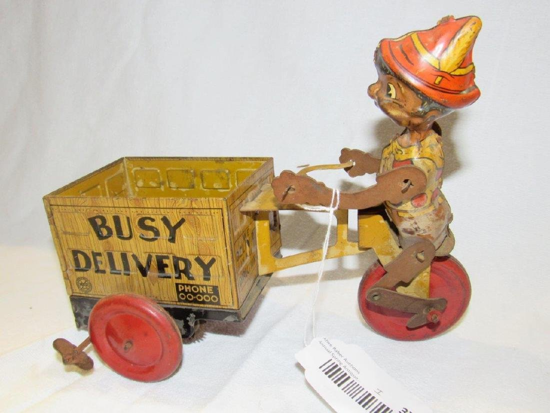 Marx Snappy Service tin litho toy