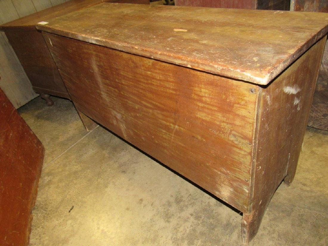Great early pine blanket chest