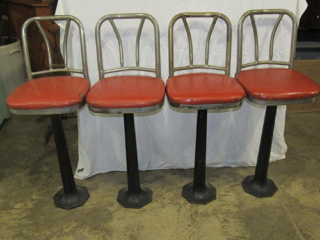 For Deco style bar stools