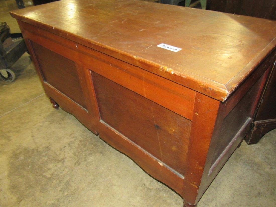 Early footed blanket chest - 2