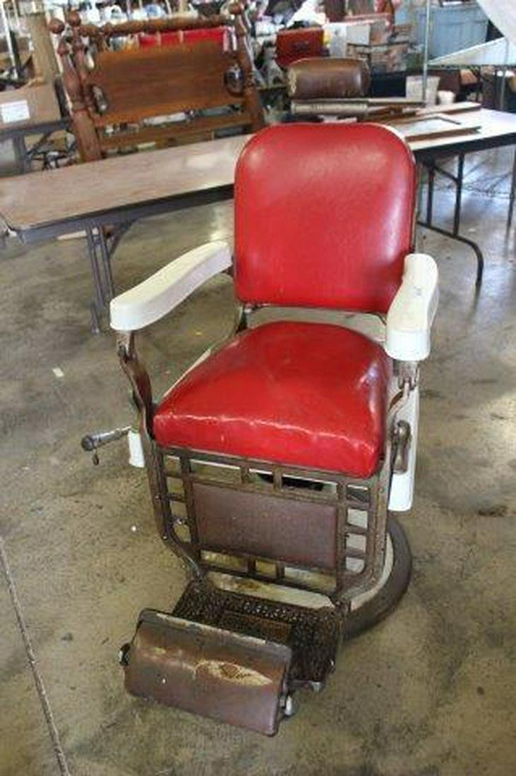 Antique Collecting | Barber chair