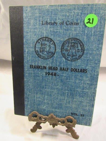 Complete Set of Franklin Halves 1948-1963d
