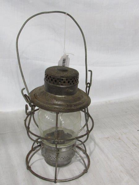 Adlake Reliable B&O railroad lantern