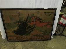 WWI Invest in the Victory Liberty Loan Litho