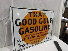 DSP That Good Gulf gasoline flange sign