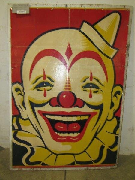Clyde Beatty & Cole Brothers traveling circus clown
