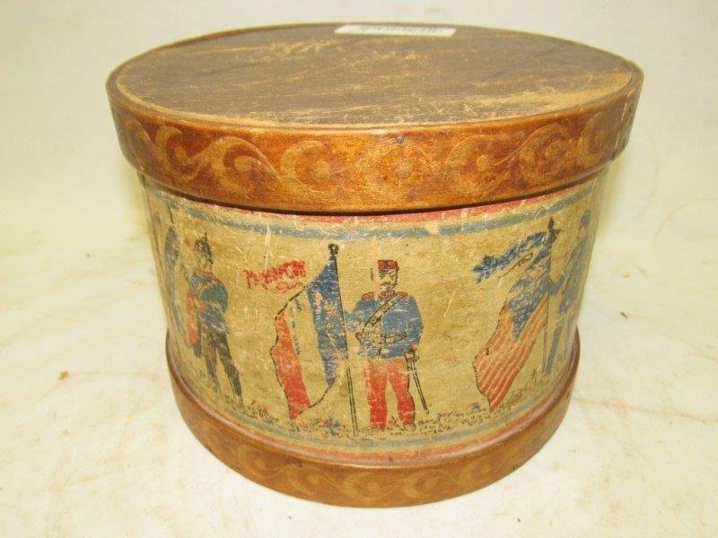 """Early """"Awesome & very rare""""  primitive stamped"""