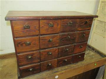 Great 16 drawer cubby cabinet