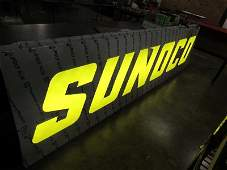 LARGE Sunoco Light Up Sign