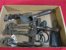 Flat of Antique Tools