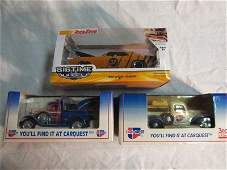 3 Model die cast cars trucks