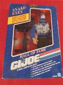 Hall of Fame GI JOE Snake Eyes action figure NIB never
