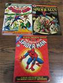 Lot of 3- Marvel 1970's Spiderman deluxe comics