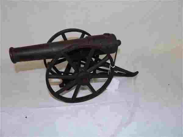 """Kilgore """"Boy Scout Machine Gun"""" toy Cannon"""