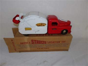 Structo #500 utility truck (New and original box)