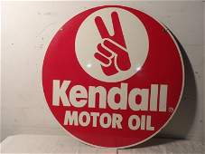 DST kendall motor oil tin sign
