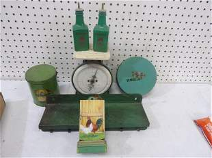 7- pc Vintage Kitchen Related Collectibles