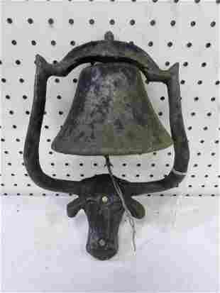 Small Cast Iron Dinner Bell