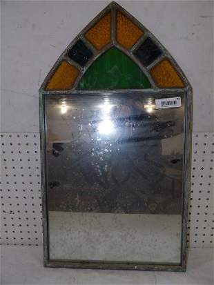 Decorative mirror with stained glass Marquee