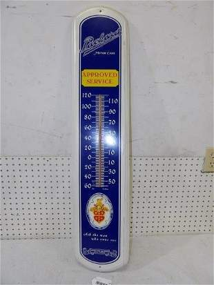 Packard Motor Cars metal thermometer