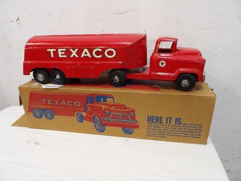 Buddy L Texaco tanker truck with original box