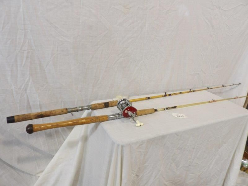 2- Early fishing rods