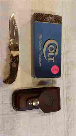 Colt LG CT0113 Lockback folding knife