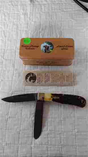 Bear & Son USA Jumbo Trapper 2-bladed knife