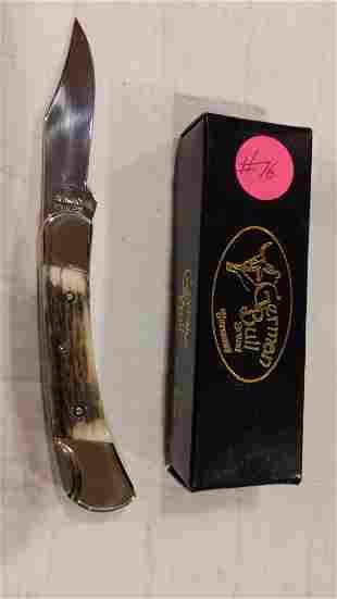 German Bull Brand GB-110 single blade lock back knife