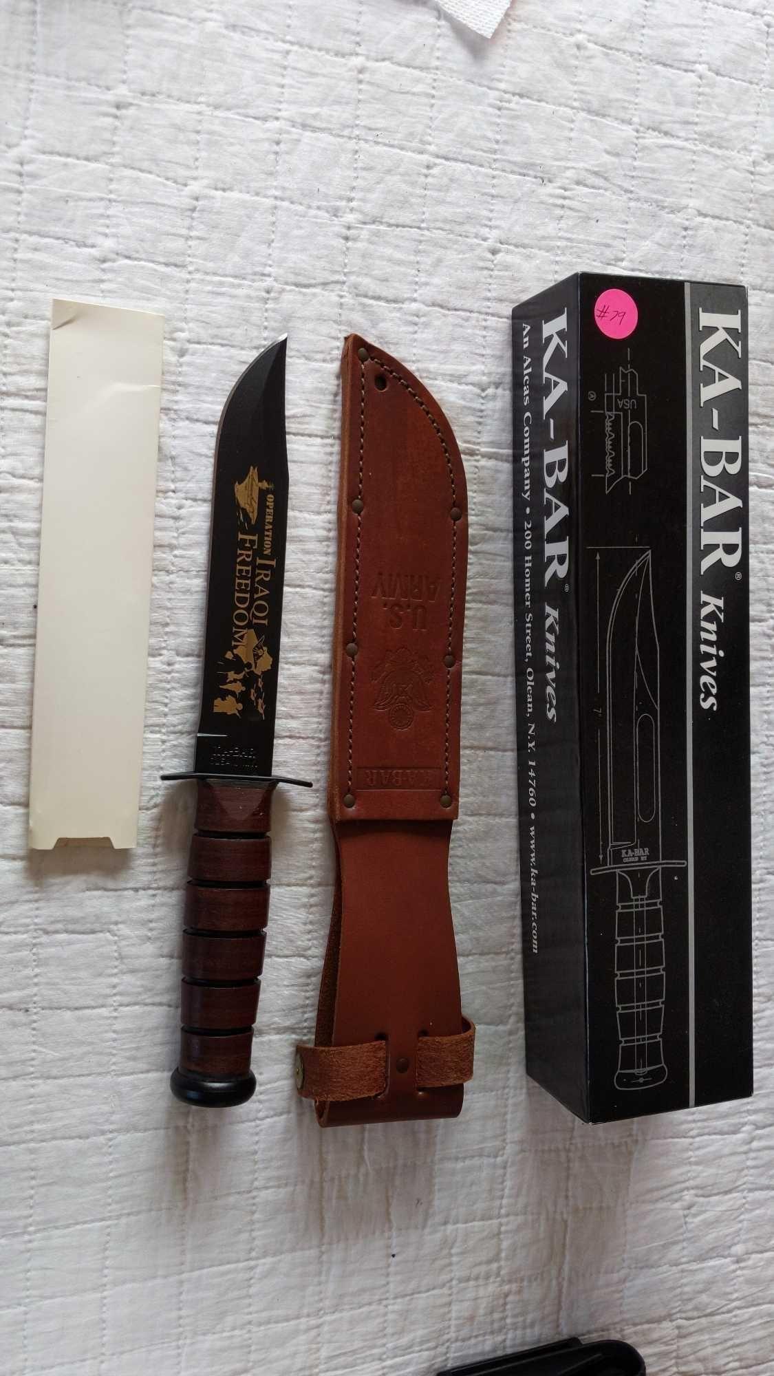 Ka-Bar USA Operation Iraqi Freedom US Army knife