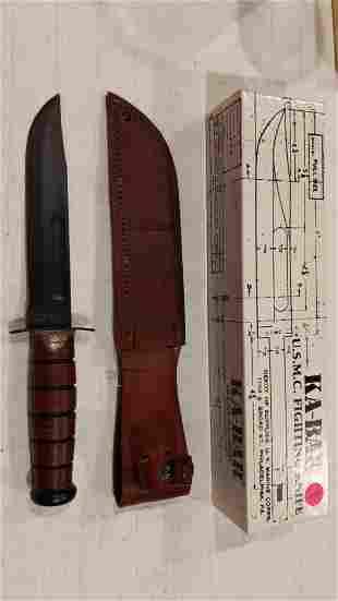 Ka-Bar 1217 U.S. Marine Corps fixed blade knife