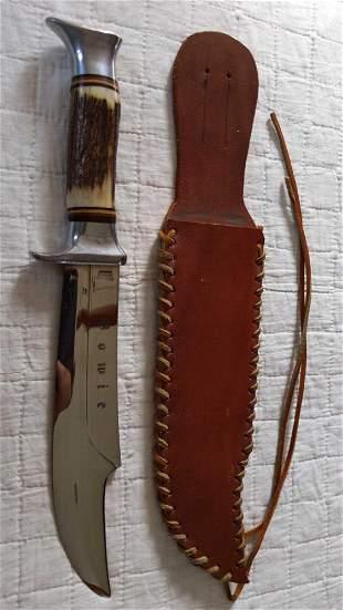 Edge Brand Solingen Germany Bowie # 469 knife