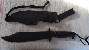 Ontario Spec-Plus Marine Raider Bowie SP10 knife