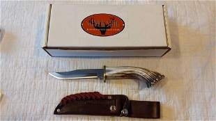 Silver Stag Deep Valley DV3010 fixed blade knife