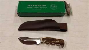 Hen & Rooster HR5022 Hunter Stag knife