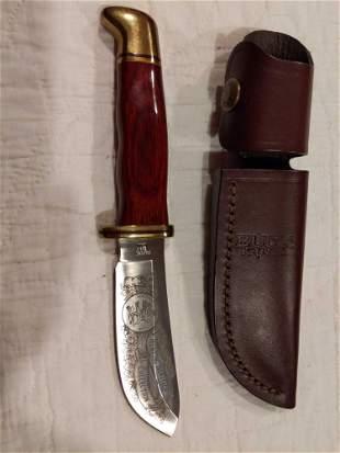 Buck USA 103 Skinner knife with sheath