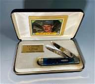 Commemorative Case XX Knife, Davey Allison Tribute, in