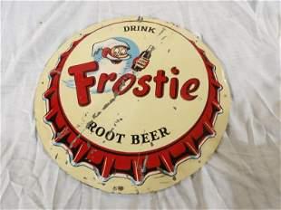 SST Frostie Root Beer sign