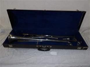 Vintage F.E. Olds Trombone w/ case