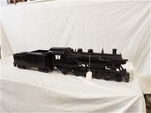 Rare Buddy L locomotive and train car