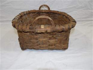Antique Northeast Native American basket